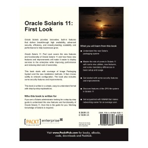 oracle solaris 11 first look cover